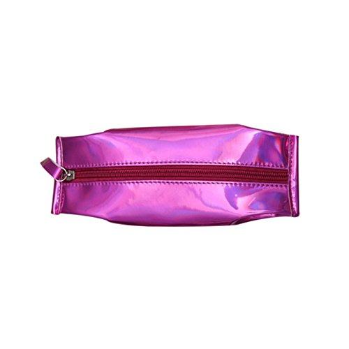 Cosanter 1 x creativo pen case harajuku stile studentessa astuccio mini matita cas-5 colori 20x7cm violet