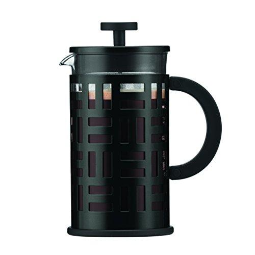 Bodum - 11195-01 - Eileen - Cafetière à Piston 8 Tasses - 1 L - Noir