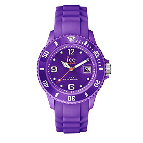 a2b761fee18f2 Ice-Watch - ICE forever Purple - Montre violette pour femme avec bracelet  en silicone
