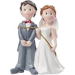 Novio atado por la novia