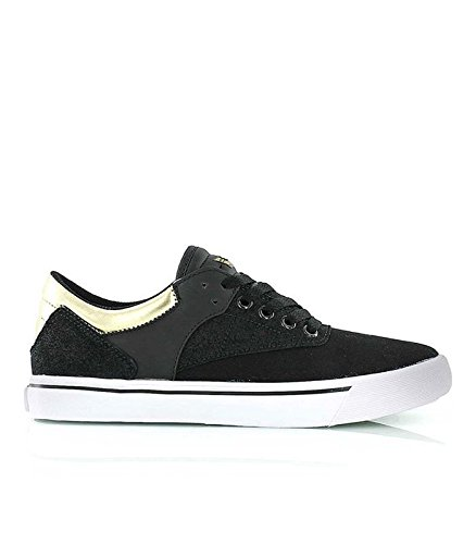 Baskets Supra GRIFFIN Noir-OR Noir
