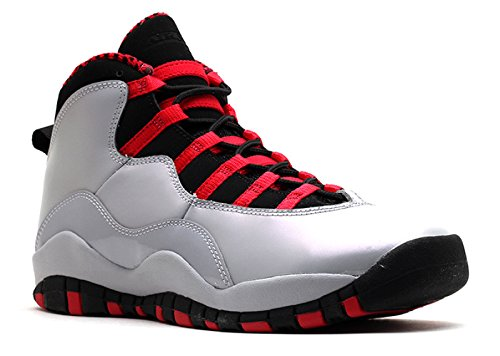 Retro (GS) Big Kids Basketball Shoes Wolf Grey/Black-Legion Red 487211-009 (6.5 M US) ()