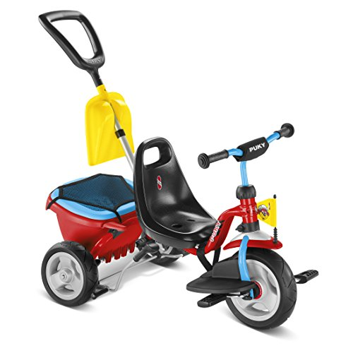 Puky 2459 CAT 1 SP Dreiräder, Rot/blau