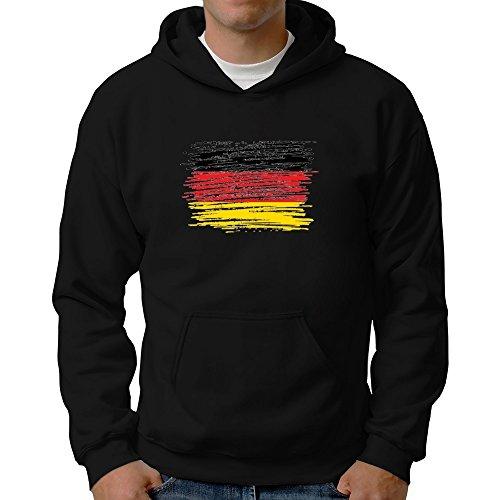 Eddany Schleswig Holstein Flag Scratched Hoodie