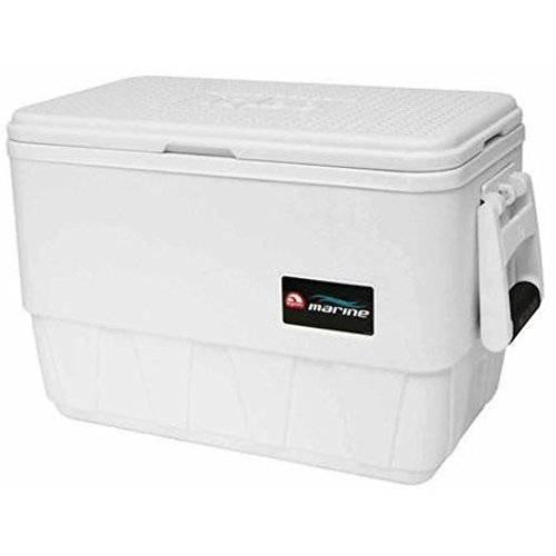 Igloo Coolers Marine Ultra Nevera Portátil, Blanco, 24 l