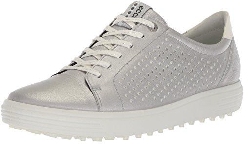 ECCO Womens Golf Casual Hybrid Größe 41 Silber (Alusilver) (Womens Casual-schuhe Größe 10)