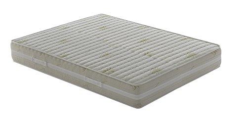 Materasso-Memory-Matrimoniale-modello-Top-Air-misura-160x200-Alto-25-cm-Rivestimento-Aloe-Vera
