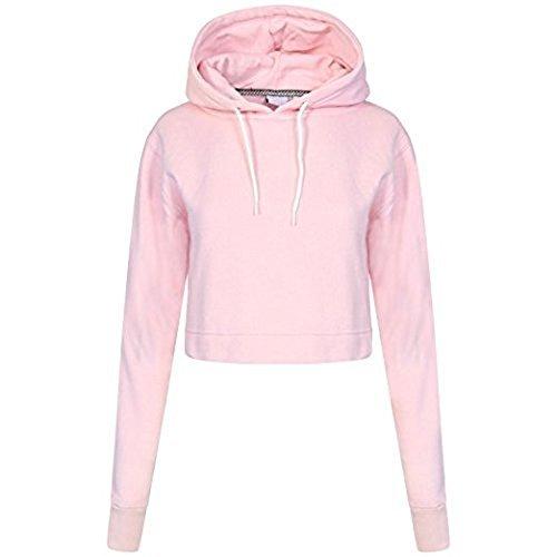 MISS CUTE - Sweat à capuche - Femme rose bébé