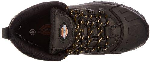 Dickies Medway, Chaussures de sécurité Adulte Mixte Noir