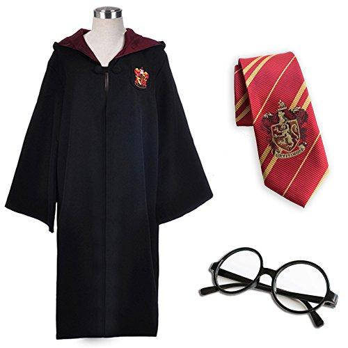 Faschingskostume Kostum Set Robe Krawatte Brille Fur Damen Herren
