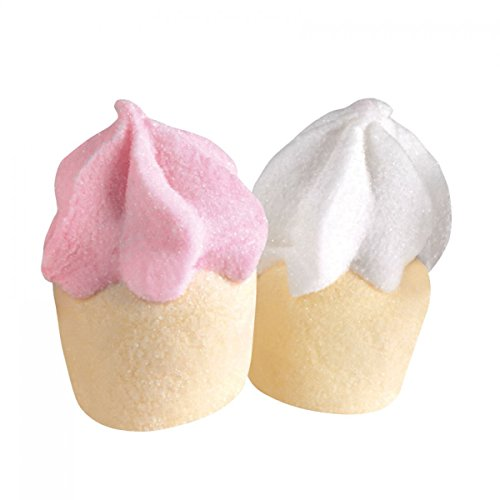 Sindy bomboniere marshmallow bulgari caramelle palle da golf in vari colori e forme a seconda della scelta selezionata (cupcake rosa-bianco)