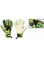 De portero de fútbol de portero GK Saver pasión Junior niños guantes tamaño 4567, color Yes Finger Protection/Yes Personalization, tamaño talla 5