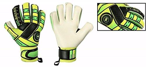 Calcio da Portiere GK Saver Passione Bambini Guanti, Taglia 4, 5, 6, 7, Yes Finger Protection/Yes Personalization, Taglia 6