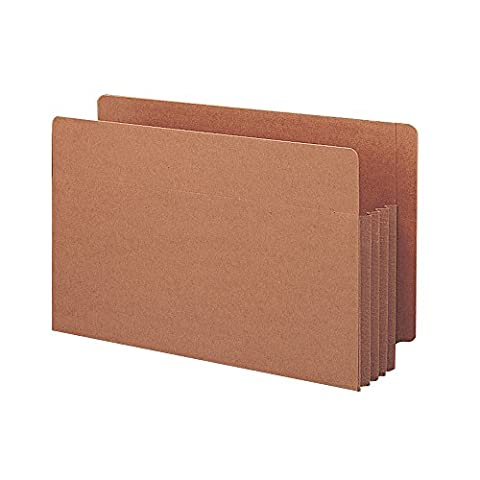 Smead End Tab TUFF® File Pocket, Reinforced Straight-Cut Tab, 3-1/2
