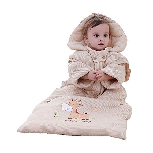 JL Baby Süße Sleep Tasche Wickeldecke separates Beine für Herbst und Winter