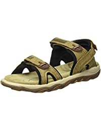 Woodland Men's Gd 1035111w13_Khaki_11 Leather Outdoor Sandals-11 UK (45 EU) (12 US) 1035111W13KHAKI
