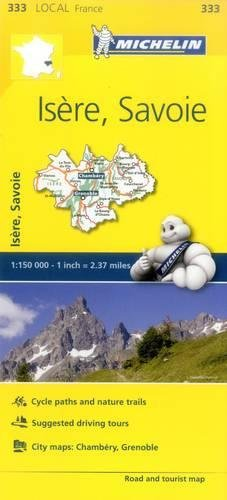 Isere, Savoie - Michelin Local Map 333 (Mapas Local Michelin, Band 333)
