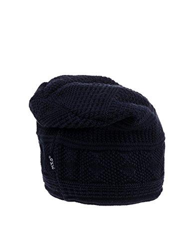 MaxiMo Beanie, Indoormütze - Bonnet - Fille Bleu (dunkelmarine 11)