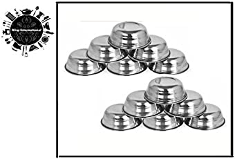 King International Stainless Steel Chutney Katori - Set of 12