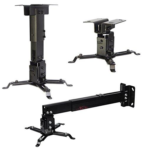 Luxburg® Suporte Universal Aluminio Proyector montaje