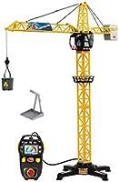 Dickie Toys 203462411 - Giant Crane, bekabelde kran, 1 meter hoog