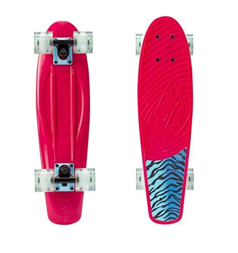 Kryptonics Torpedo Skateboard Skateboarding Skaten + ABEC 5 Kugellager, Outdoor Board, Sport & Freizeit - Pink Tiger