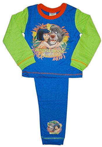 Boys Disney Jungle Book Pyjamas 18-24 Months 2-3 3-4 4-5 Years