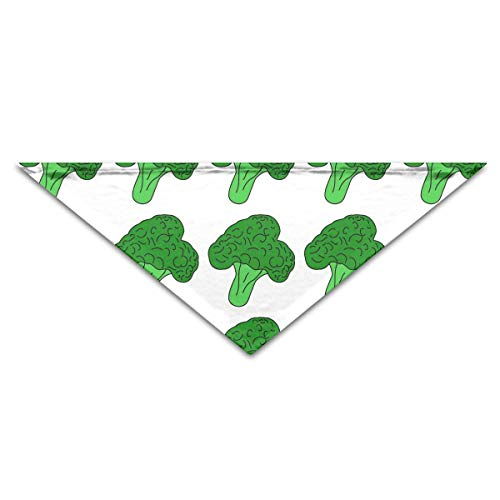 Pet Bandanas Cartoon Broccoli Gemüse Hund Bandanas Schals Dreieck Lätzchen Schals Soft Basic Dogs Halstuch Katze Halsbänder