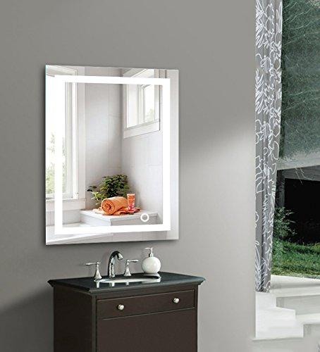 Wefun Badspiegel mit Beleuchtung,Badezimmerspiegel mit Beleuchtung,badezimmerspiegel LED Touch...