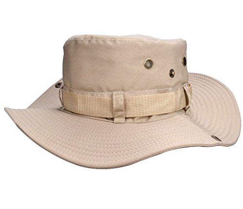 Beileer elegante sombrero de protección UV al aire libre sombrero para exteriores Pesca Camping Ciclismo Caza Golf Senderismo, mujer hombre Infantil, gris