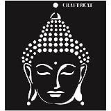 """CrafTreat Buddha Stencil 6""""X6"""""""