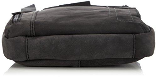 Strellson Richmond ShoulderBag SV 4010001455 Herren Schultertaschen 22x25x4 cm (B x H x T) Schwarz (Black 900)