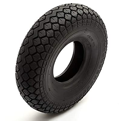 Tyre 330x100 Black Diamond Block Tread Fits Mobility Scooter 5 Inch Wheel Rim 4 Ply