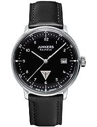 Junkers Herren-Armbanduhr XL Bauhaus Ronda515 Analog Quarz Leder 60462