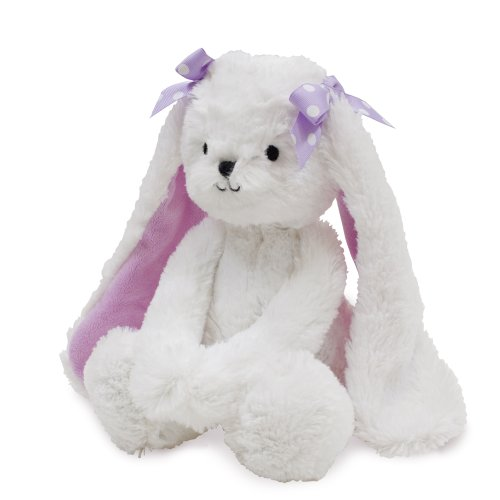 Bedtime Originals Wood Plush Bunny Sasha, Lavender