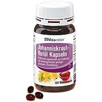 Johanniskraut-Rotöl Kapseln   Entspannung & Geistige Fitness   Kräftigung der Nerven   120 Kapseln preisvergleich bei billige-tabletten.eu