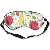Eye Mask Eyeshade Fruits Slices Sleeping Mask Blindfold Eyepatch Adjustable Head Strap preisvergleich bei billige-tabletten.eu