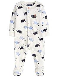 871c961dd185a Joules Baby Velour Babygrow - Cream Mini Mammoth