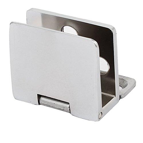 sourcing map 5mm-8mm Dicke Glas Tür Metall Wand montiert Klemme Clip Scharnier DE de
