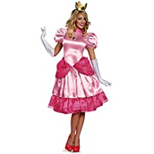 Disfraz Princesa Peach mujer M