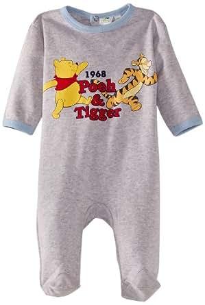 Winnie the Pooh HM0307 Baby Boy's Pyjamas Crystal/Blue 6 Months