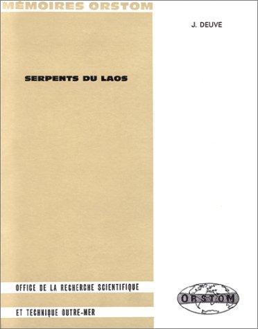 Serpents du Laos par J. Deuve