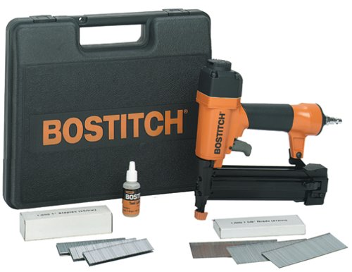 BOSTITCH SB-2IN1 2-In-1 Narrow Crown Stapler/18-gauge Brad Nailer by BOSTITCH