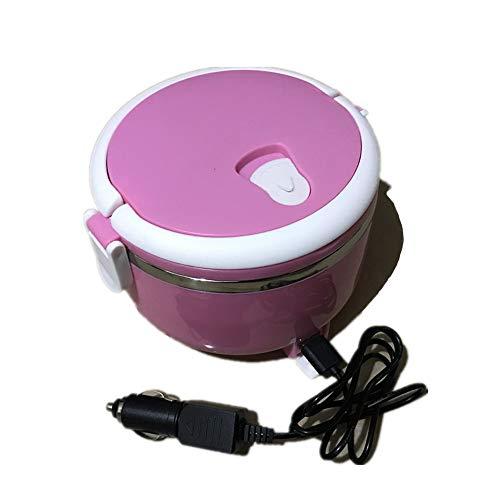AI CHEN Lunch Box Elettrico Portatile per Auto, 12V / 220V Lunch Box Elettrico Elettrico Domestico Lunch Box Elettrico Elettrico riscaldatore Aliment