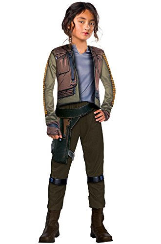 ue One Girls Jyn Erso Deluxe Costume L ()