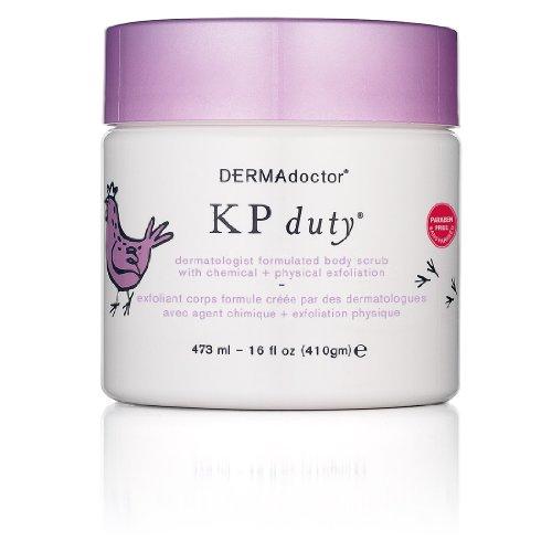 DERMAdoctor KP Duty Dermatologist Formulated Body Scrub 473ml