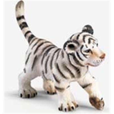 14353 - Schleich - Tigerbaby, weiß