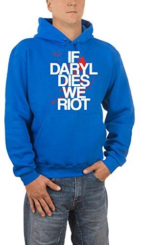 Touchlines Daryl Dies, Felpa Uomo Blau (Royal 09)