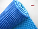 Textured Pattern Soft Comfort Fitness Exercise Anti Skid, Non Slip Yoga Thick Mat