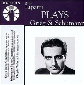 Lipatti Plays Grieg & Schumann